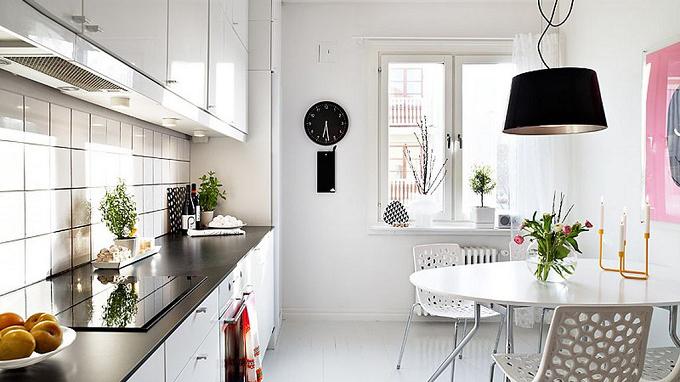 cách sắp xếp phòng bếp