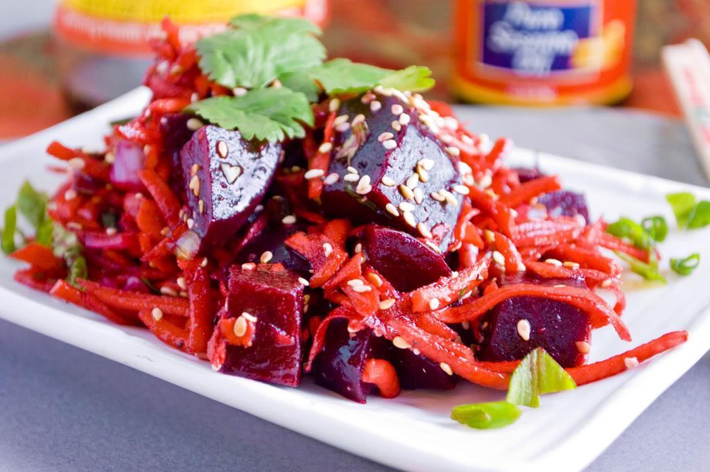Các món ăn ngon cuối tuần dễ làm - salad củ cải đỏ