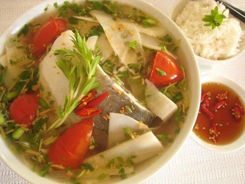 cách làm cá Tra nấu măng chua
