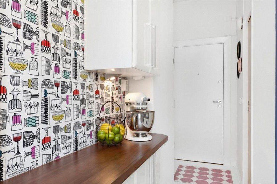 chọn giấy dán tường nhà bếp theo phong thủy
