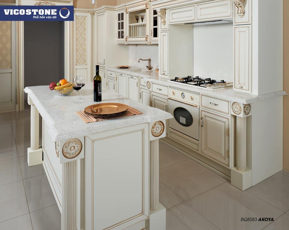 Chọn đá bàn bếp phù hợp với không gian sống