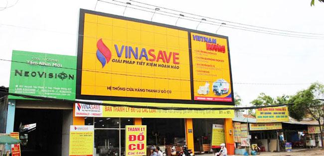 Trang web thanh lý đồ cũ Vinasave