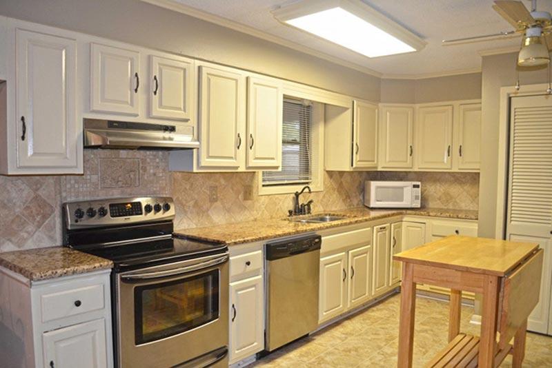 Khu vực nhà bếp chỉ cần một hệ thống thông gió đơn giản